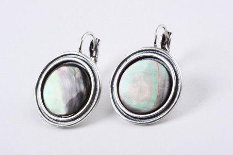 Abalone Disc Earring – Jewel Online