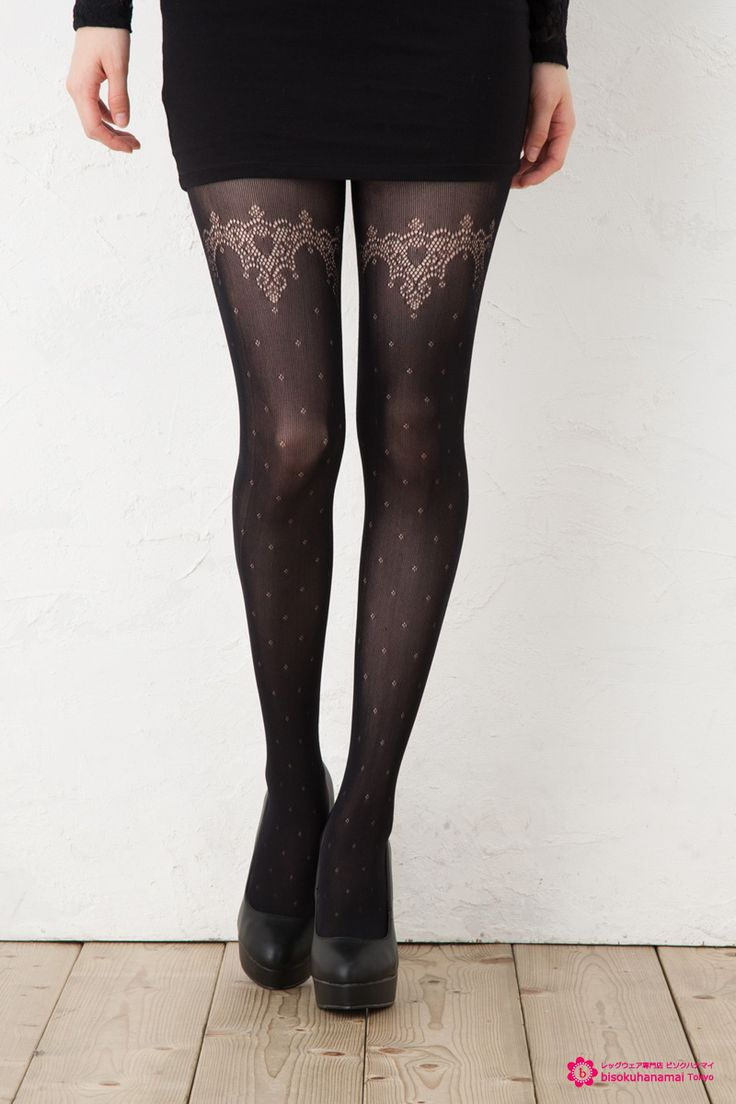 Tuche heart garter tights JPY800(without TAX)