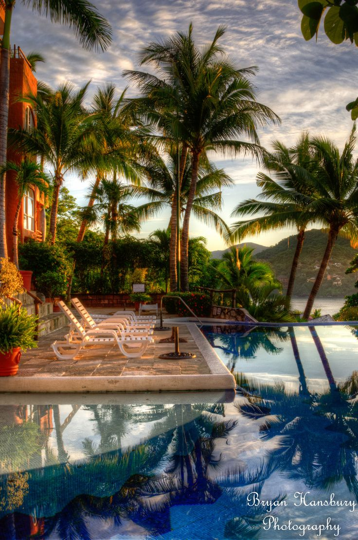 Morning in Zihuatanejo, Mexico