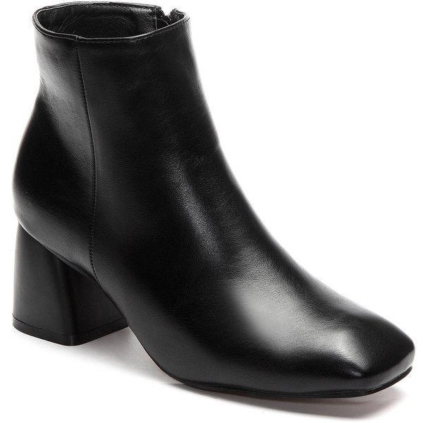 1000  ideas about Black Chunky Heels on Pinterest | Chunky heels ...