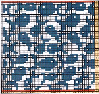 Potholder Fish Pattern by Regina Schoenfeldt Here I offer only the chart pattern for a potholder. I am assuming that you are familiar with the double-faced knitting technique.