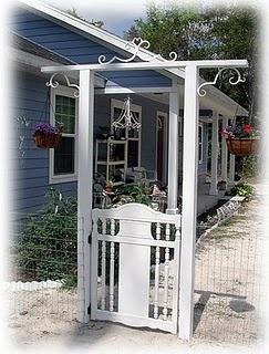 garden arbor gate