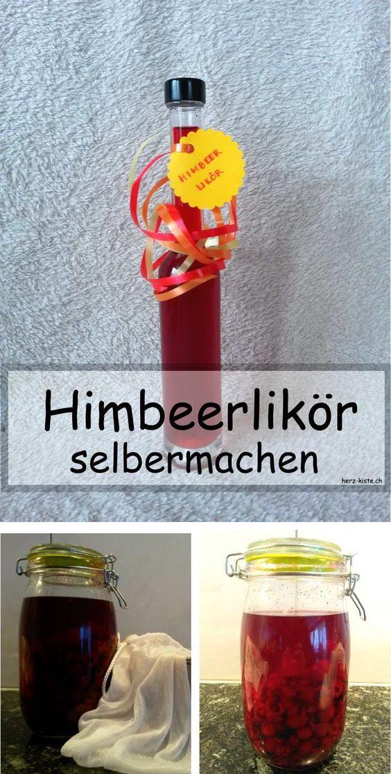 Lecker: Himbeerlikör selbermachen - Anleitung mit Rezept