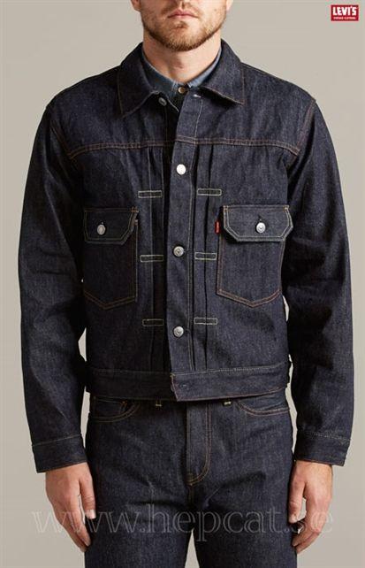 4d809cda87be Köp Levi´s Vintage Clothing - 1953 Type Ii Jacket Rigid från HepCat Store i  Lund. Snabba leveranser och fri frakt över 1000kr. Betala säkert … | Kläder  ...