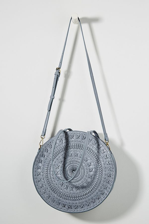 d9c385841a Kelsey Woven Circle Bag in 2019 | Accessorize It. | Bags, Circle ...