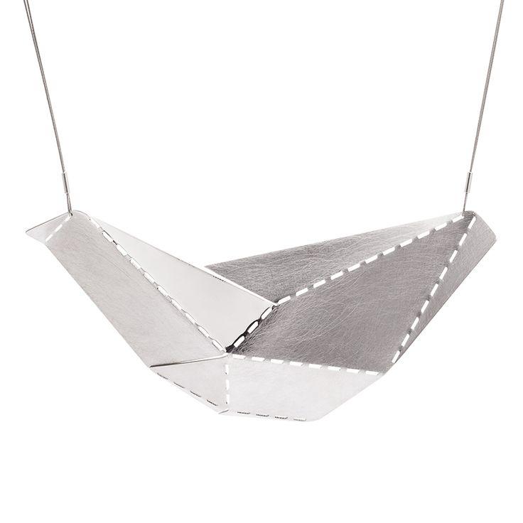 #jewellery #jewels #jewelry #necklace #silver  #design #style #fashion buy www.aleksandraprzybysz.pl