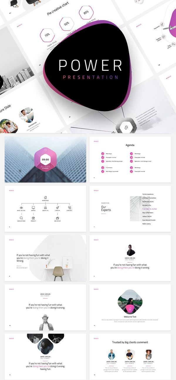 Free Minimal Powerpoint Template Free Download Freebies