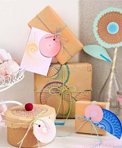 Tip na kreativní DIY balení dárků