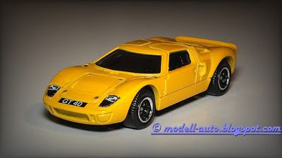Modellautos Scale Model Cars: Matchbox Mattel Ford GT 40 2015 Thailand from 5 Pack