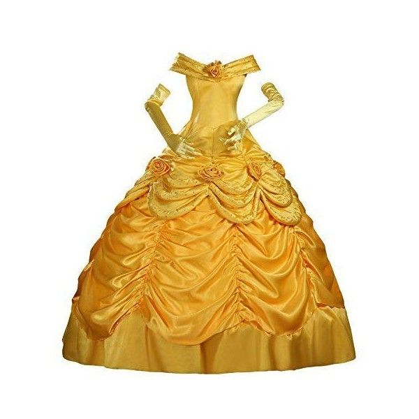Plus Size Disney Costumes 2015 - Women's Characters ❤ liked on Polyvore featuring costumes, princess belle costume, plus size womens costumes, belle costume, womens princess costume and snow white costume