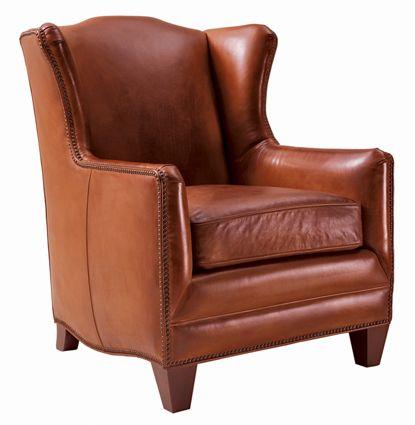 Merveilleux Henredon Leather Chair @Henredon Furniture