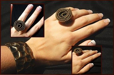 zipper ring #DIY