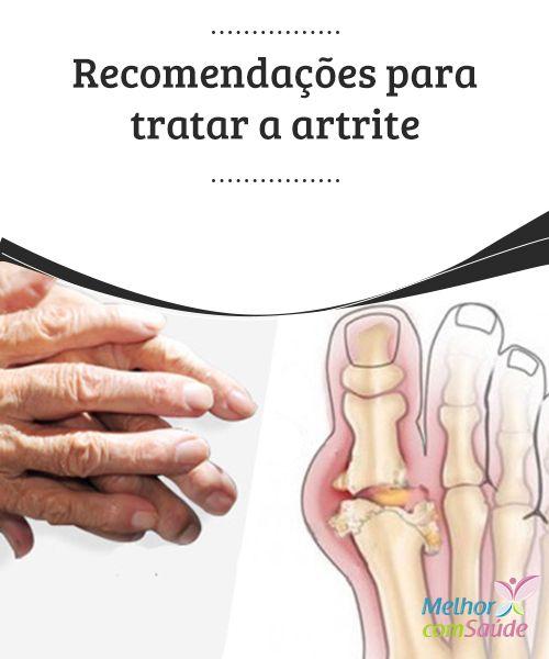 Recomendações para tratar a #artrite Para #reduzir a #pressão excessiva sobre as #articulações é fundamental que mantenhamos um #peso adequado. Podemos fazer exercícios físicos leves, sempre dentro das nossas possibilidades.