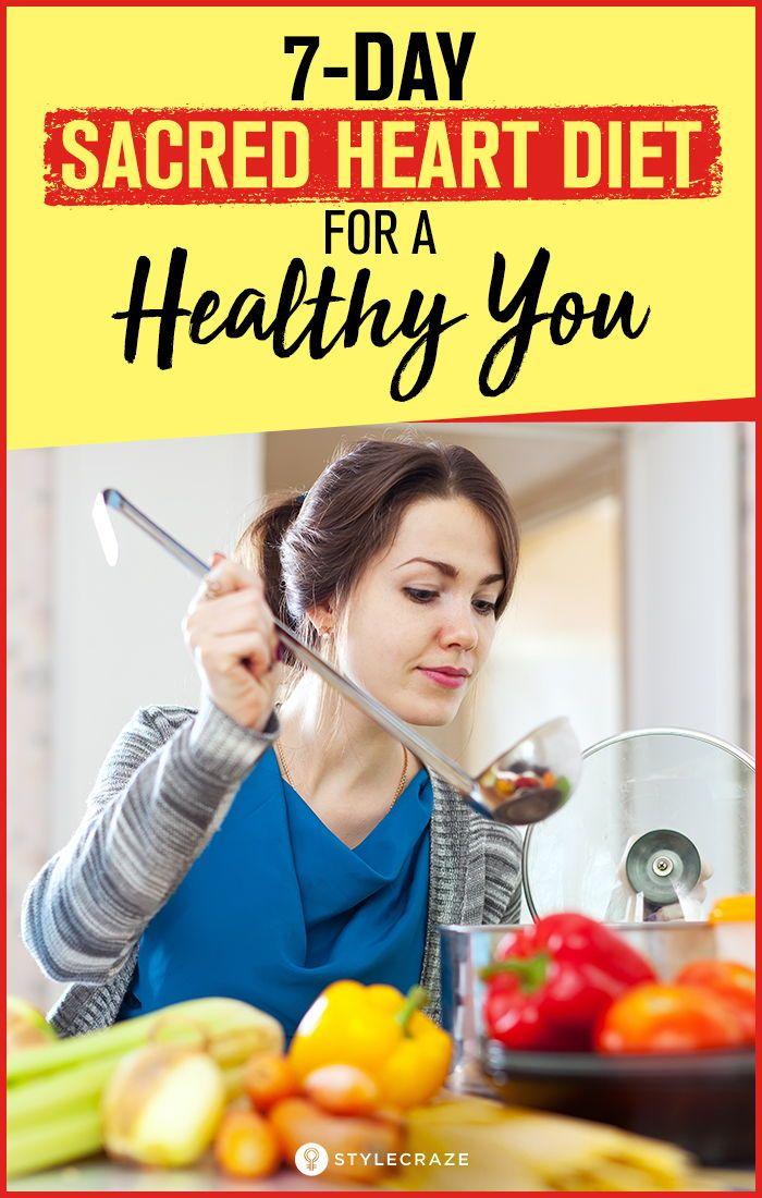 sacred heart diet 7 day plan