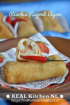REAL Kitchen NL: Risoles Ragout Ayam (JPTI)