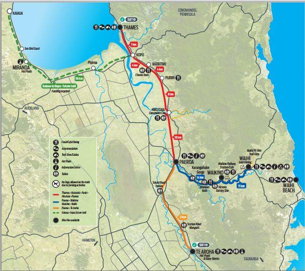 The Hauraki Rail Trail (Part 1), Cycling in NZ. http://www.thetravellinglindfields.com/2015/02/the-hauraki-rail-trail-part-1-cycling.html