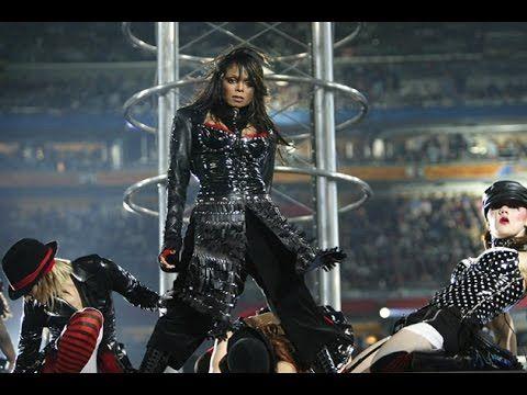 Janet Jackson's Super Bowl Halftime Show - YouTube