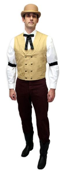 wild west banker costume | Found on westernemporium.com