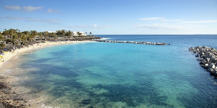Flamingo Beach, Playa Blanca, Lanzarote, Spain (The Canary Islands)