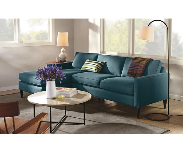 Sectional Sofas Room u Board Murray Sofa with Left Arm Chaise