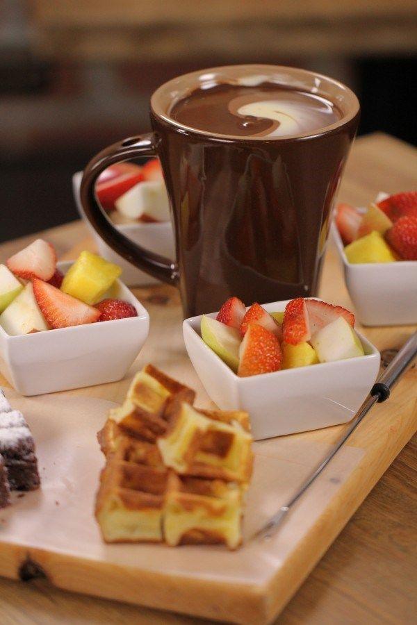 Triple Chocolate Fondue