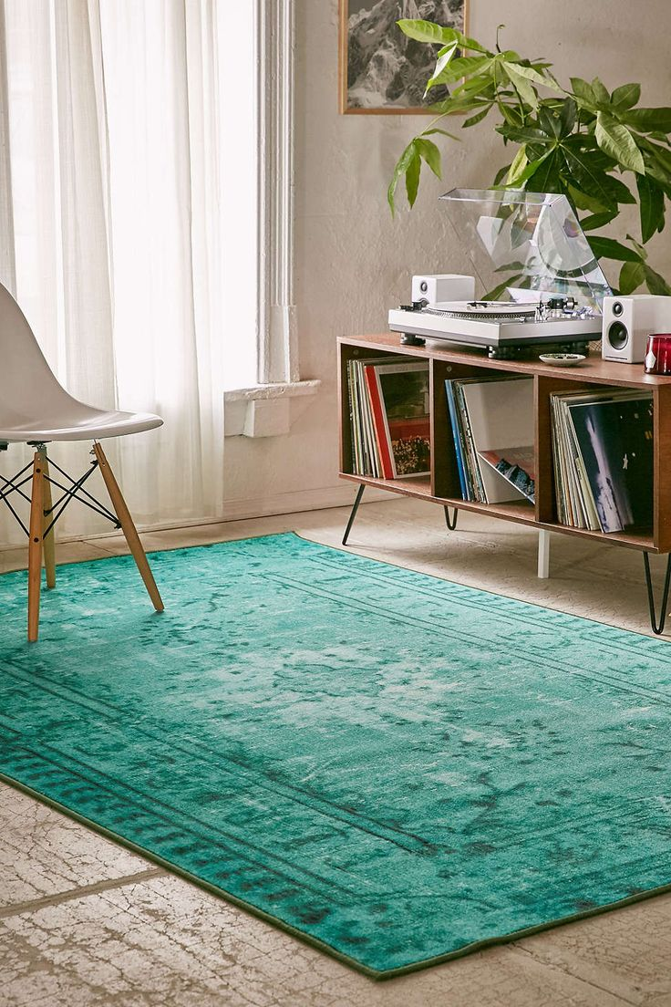 Dining Room? Chroma Overdyed Rug