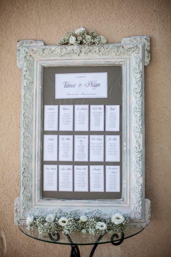 17 best images about mariage plan de table et marque. Black Bedroom Furniture Sets. Home Design Ideas