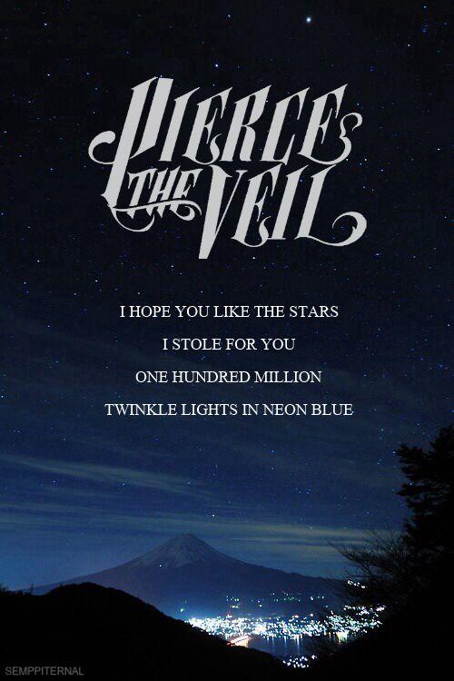 pierce the veil lyrics   Tumblr