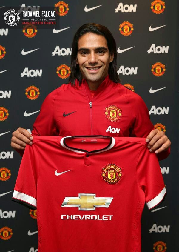 Manchester United is delighted to announce Radamel Falcao has joined on a 1-year loan from AS Monaco with an option to buy