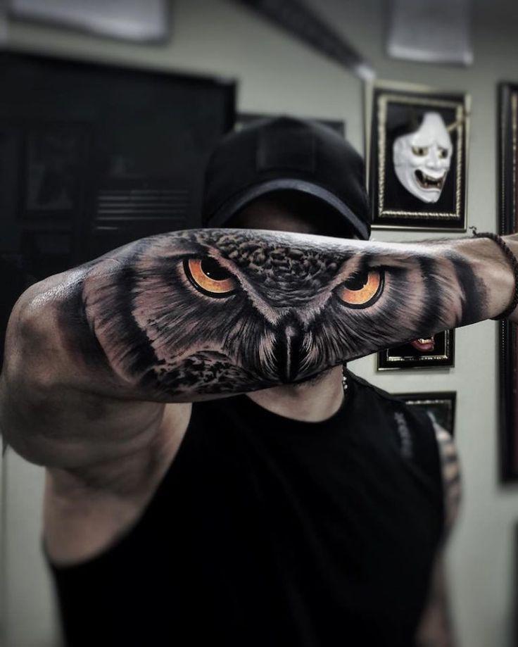 Naturalistic Mural Con Imagenes Tatuajes Al Azar Tatuajes