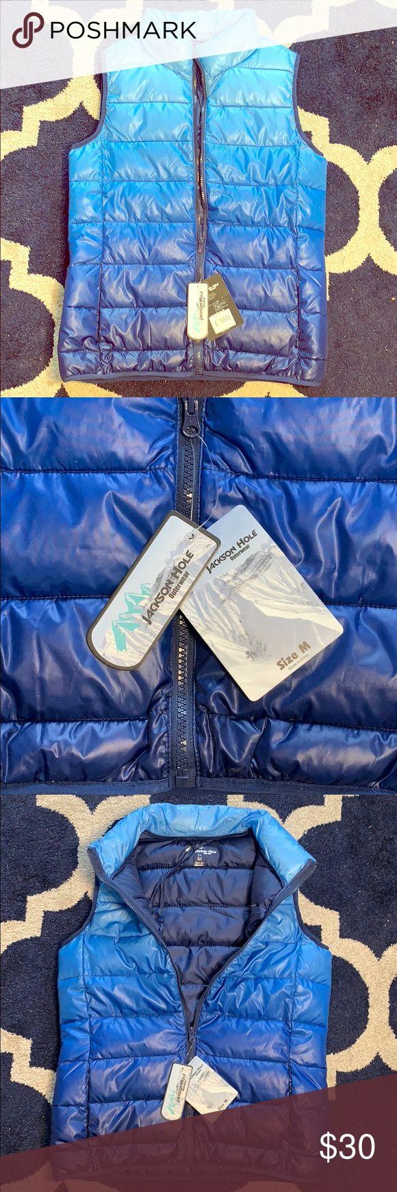 Jackson Hole Vest Blue Puffer Jackson Hole Vest [ 1740 x 580 Pixel ]