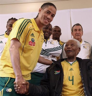 Steven Pienaar-Everton & South Africa and Nelson Mandela