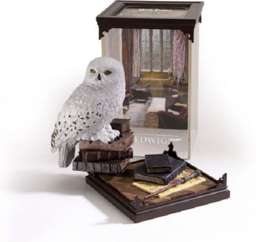 HARRY POTTER OWL FIGURINE STATUE COLLECT SCIENCE FICTION MOVIE FANTASY HEDWIG