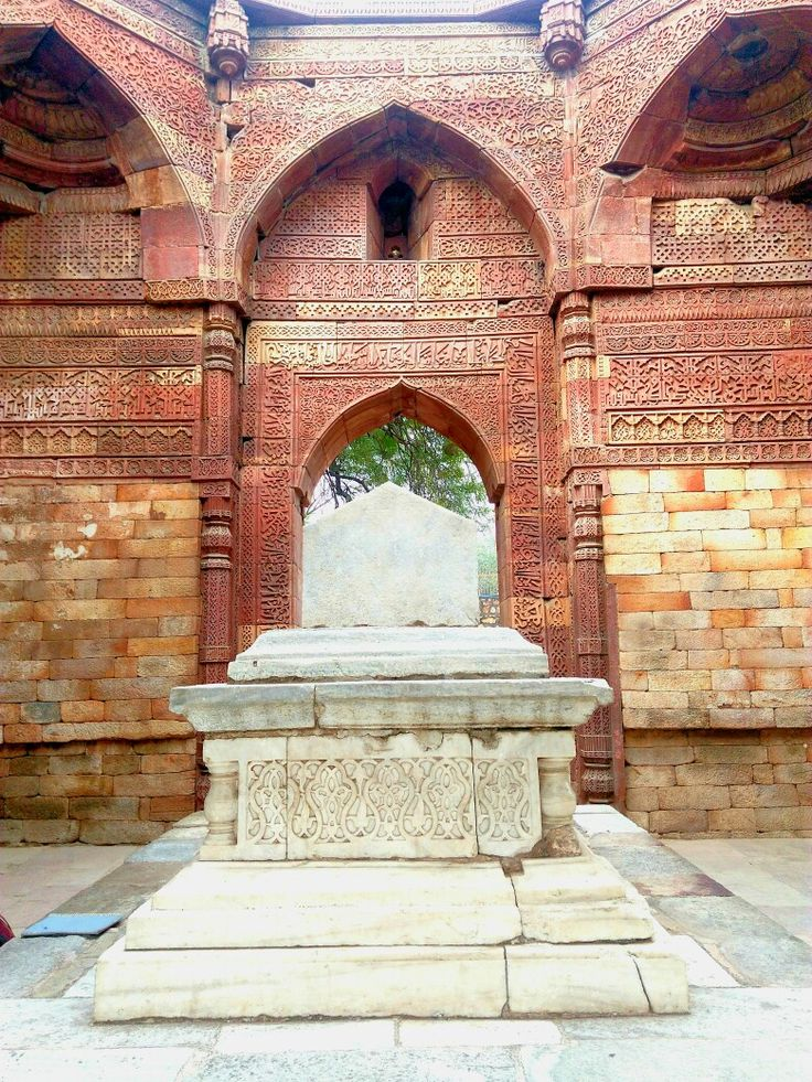 The tomb of Iltutmish, the Sultan of Islamic Delhi Sultanate of 13th Century India.  #Architecture #India #Monument #Tomb #Islamic