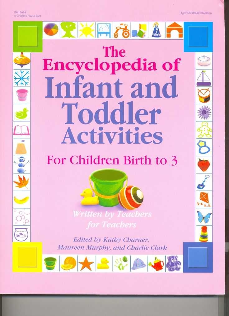 The Encyclopedia of Infant and Toddlers Activities book is geared for Children Birth to 3 years. There are over 300 activities just for infants, toddlers, and twos! This book will captivate children's imaginations and create wonderful opportunities for learning. This is a must have for any preschool or child care provider that have infants from 12 months to 3 years old. Please click on product image to order.