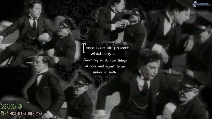 Buster Keaton - Sherlock Jr. 1926