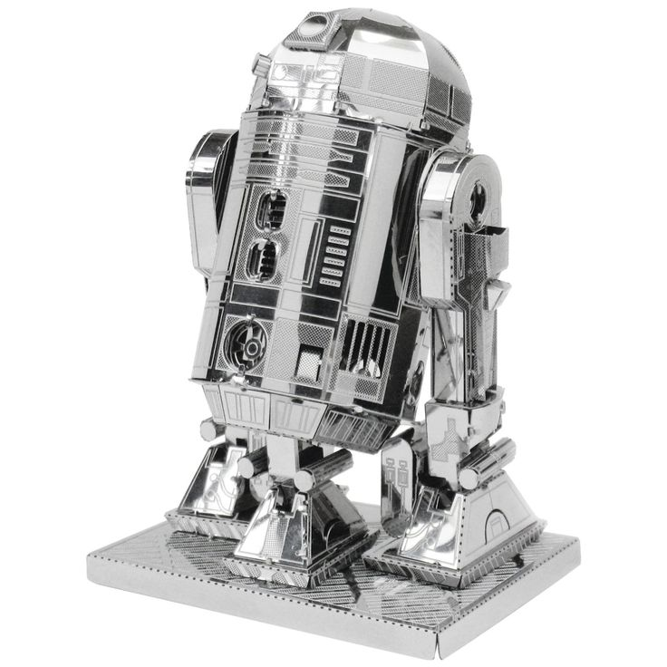 Star Wars 3D Metal Model Kits. There are four different designs and the good news is that they don't require glue or soldering; just patience and you will then be rewarded with stunning 3D models which look great on a shelf, desk or table