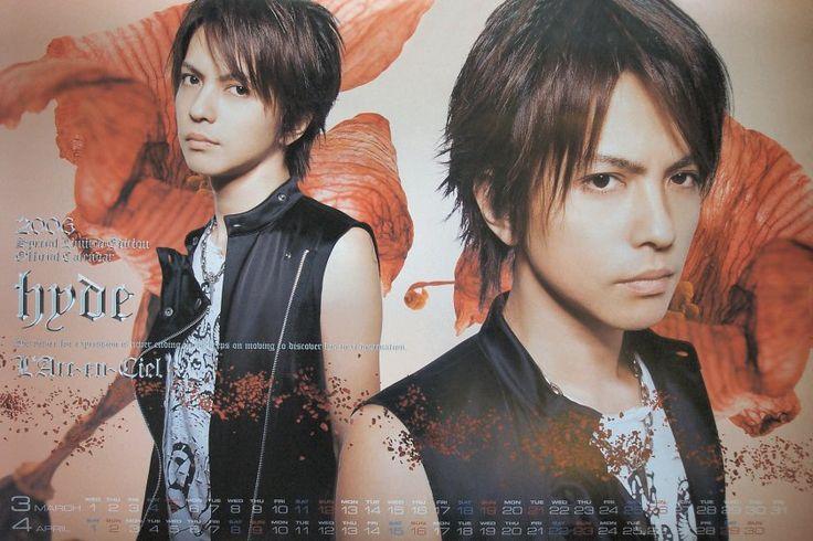 2006 hyde Source: L'Arc~en~Ciel official calendar 2006