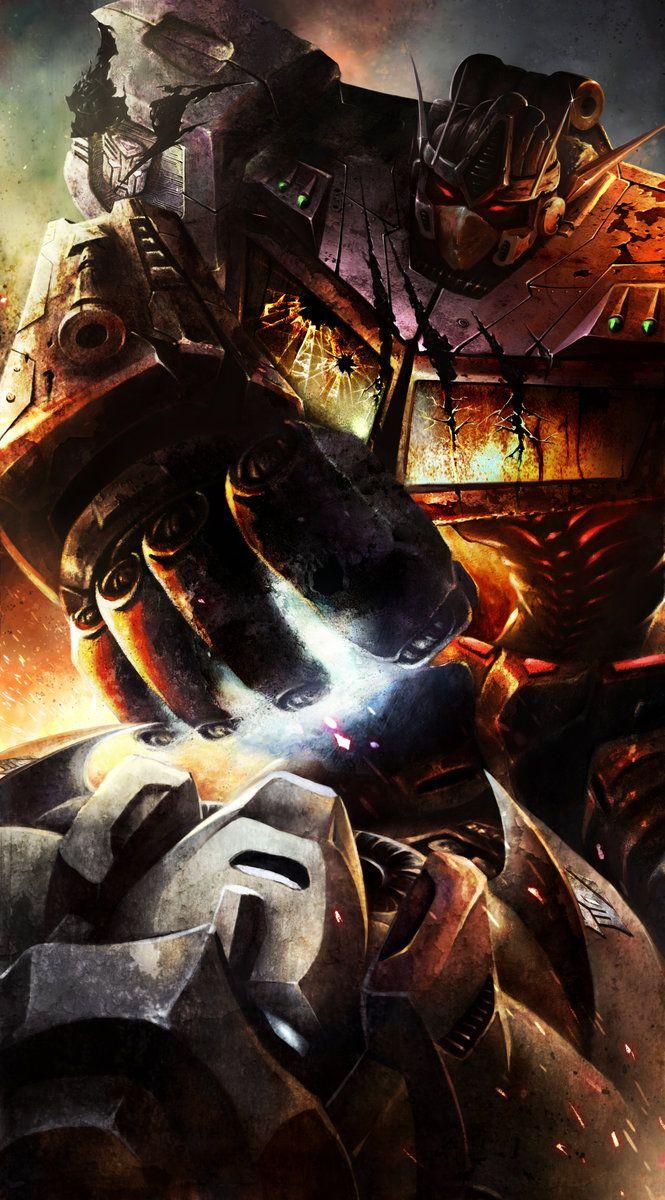 513 best images about i geeky stuff on pinterest - Transformers cartoon optimus prime vs megatron ...