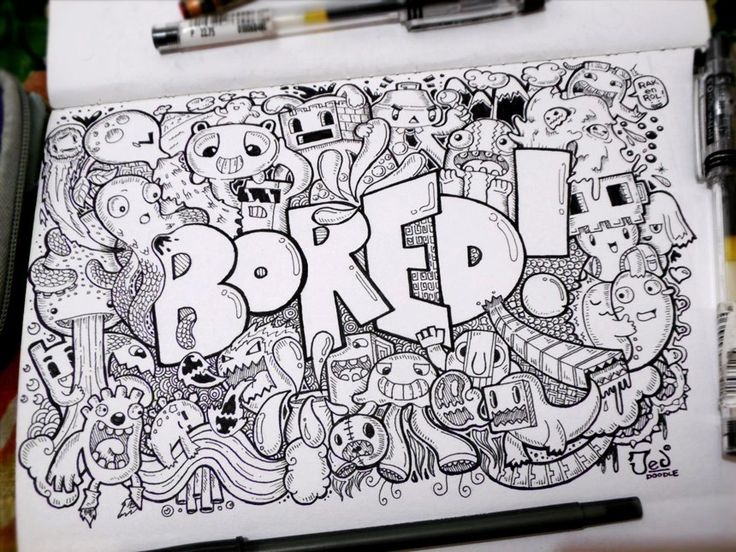 Bored Doodle