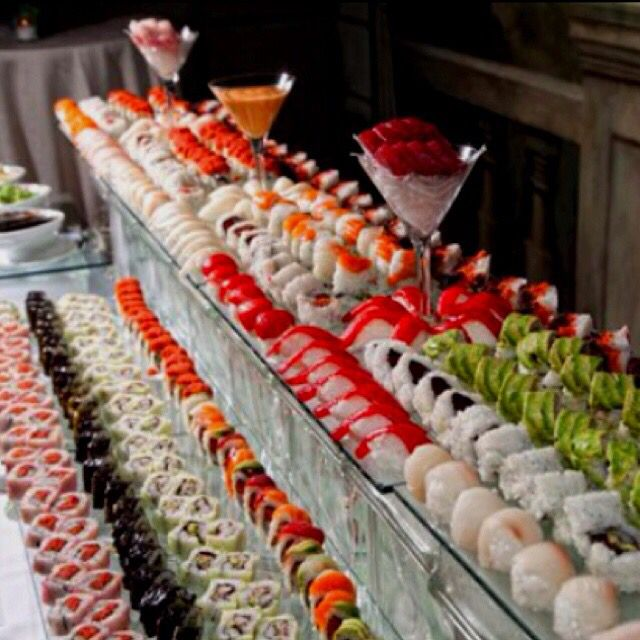 Sushi Catering, Buffet Food