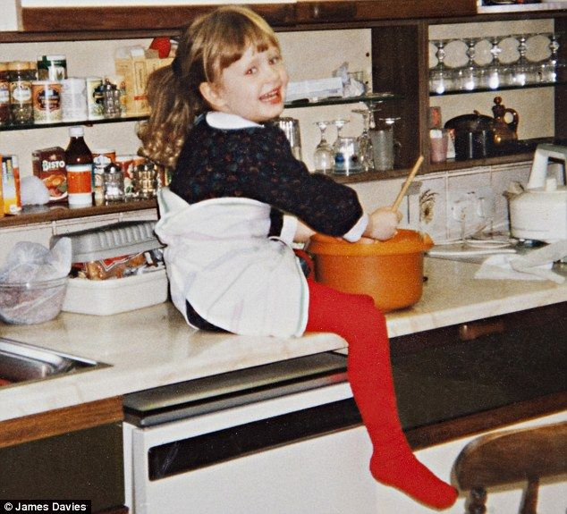 This is one of the cutest photos ever! Adele age 4.