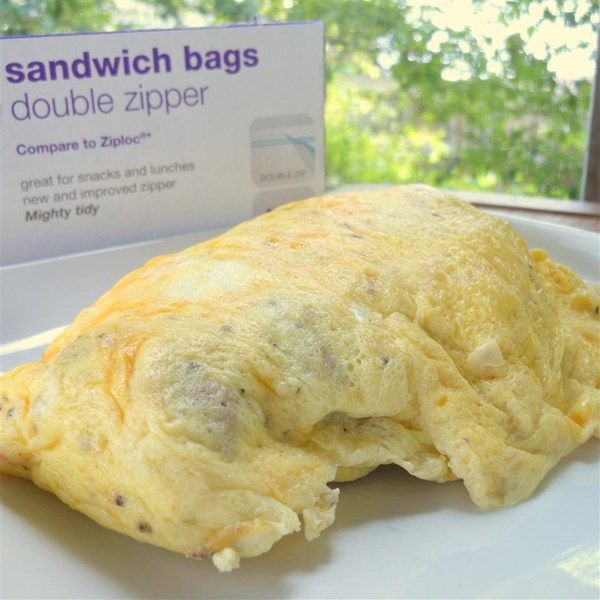 """Easy Omelet in a Bag 