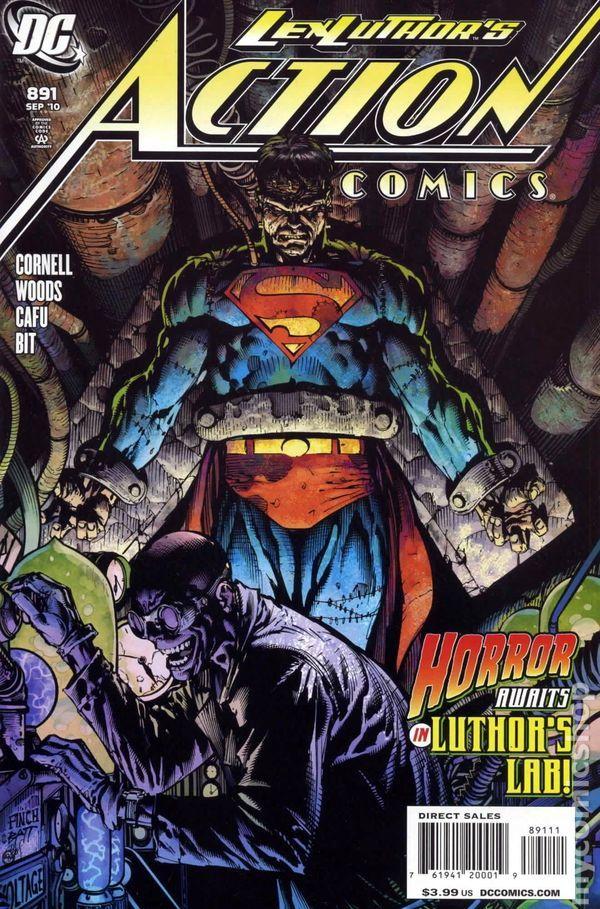 Action Comics (1938 DC) 891 lex luthor superman