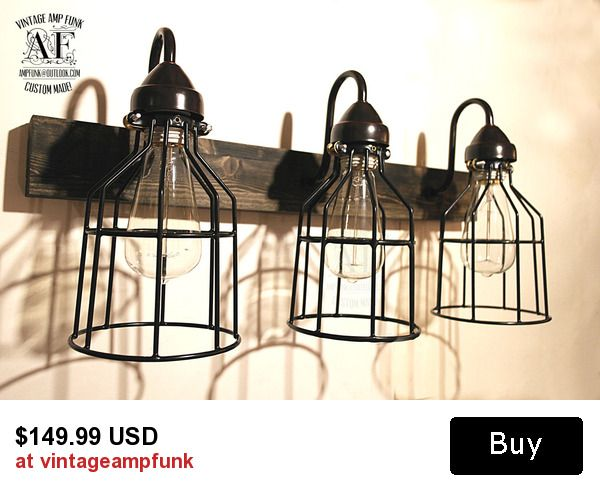 Gallery For Photographers Bathroom Cages Vanity Bar Light Fixture Industrial style