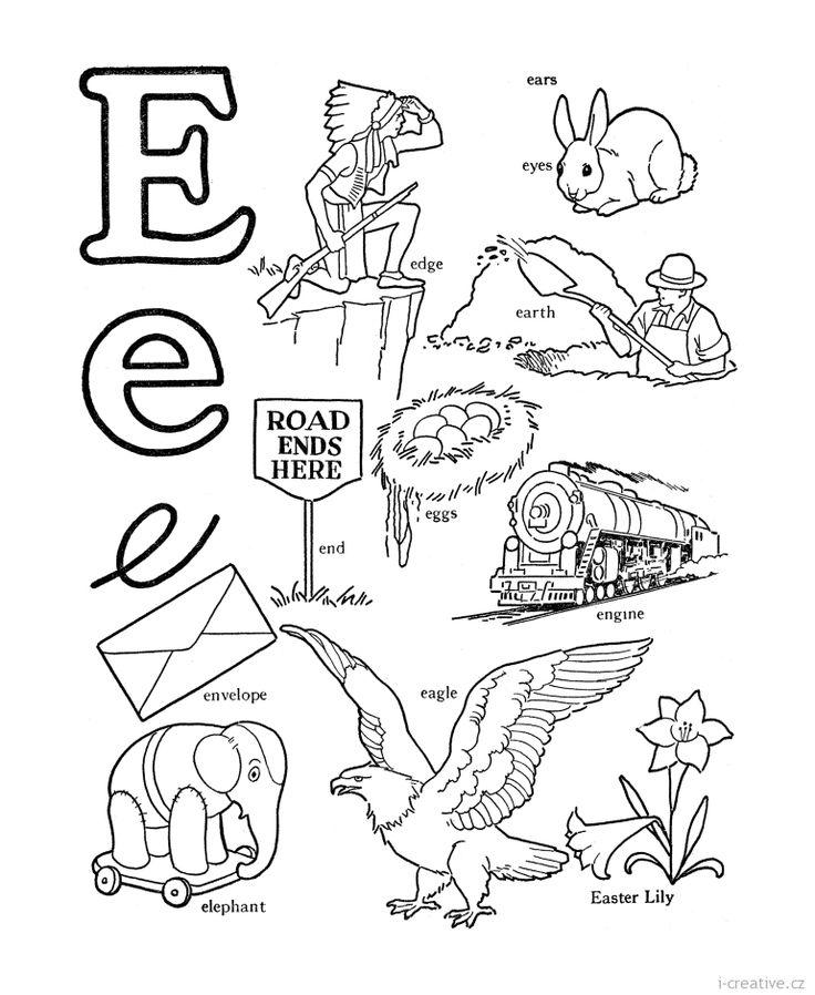 anglická slovíčka E