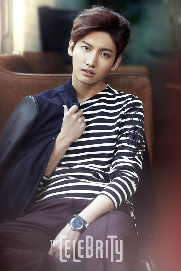 TVXQ Chang Min - The Celebrity Magazine March Issue '14