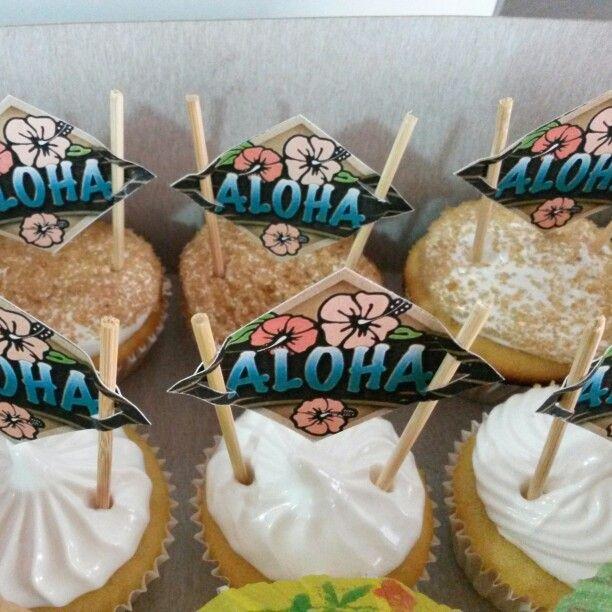 Cupcakes Hawaianos!