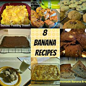 With Love, Anna: 8 Banana Recipes You'll Love