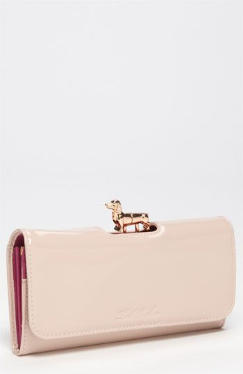 Ted Baker London 'Sassey - Dog Bobble Matinee' Wallet